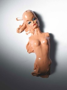melted barbie doll